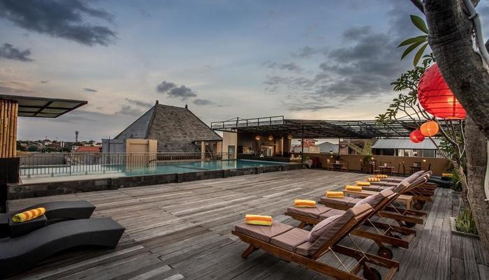 The Tusita Hotel Bali - Pemandangan Atap 1