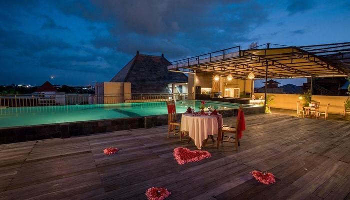 The Tusita Hotel Bali - Pemandangan Atap 3