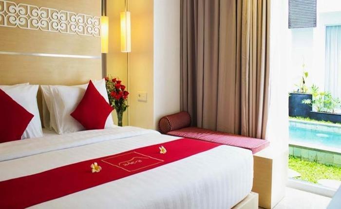 The Alea Hotel Seminyak Bali - Kamar tamu