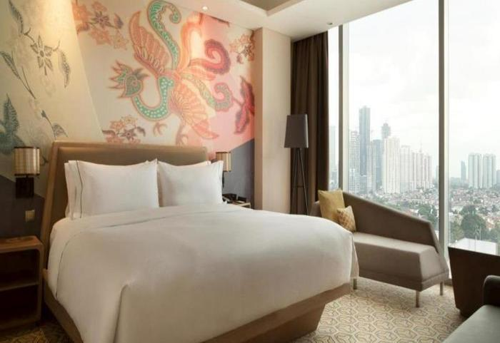 DoubleTree by Hilton Jakarta -  Diponegoro - Kamar tamu