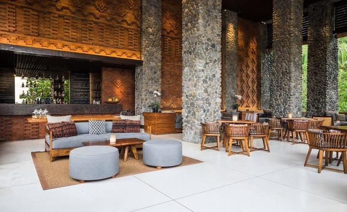Alila Ubud Hotel Bali - Cabana Lounge
