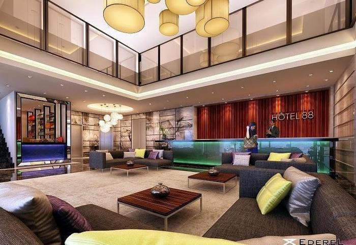 Hotel 88 Embong Malang - Lobby1