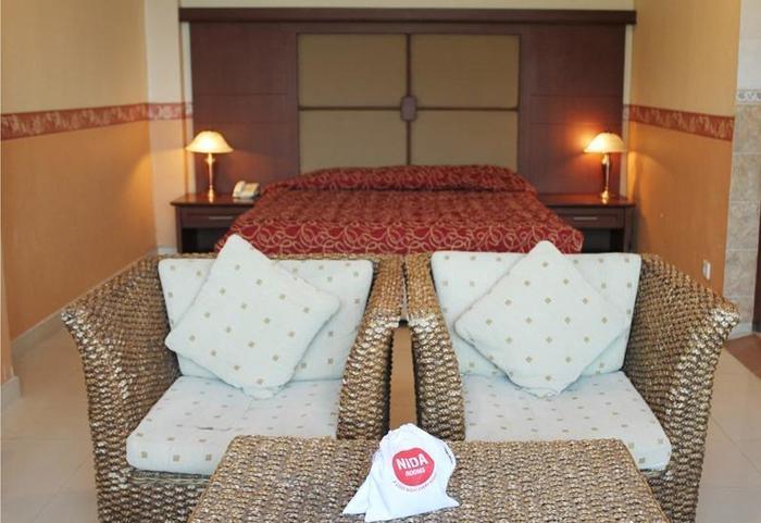 NIDA Rooms Banjarsari Ahmand Yani - Ruang tamu