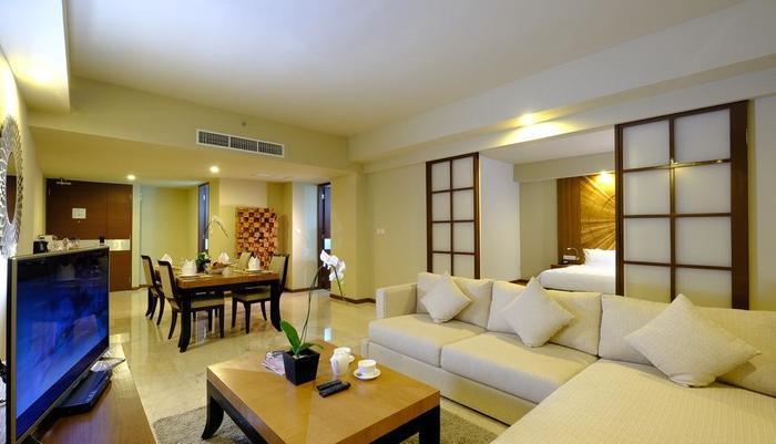 The Sintesa Jimbaran Bali - Living room