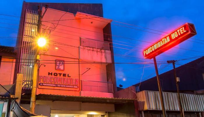 Hotel Poncowinatan Yogyakarta - Tampak Luar