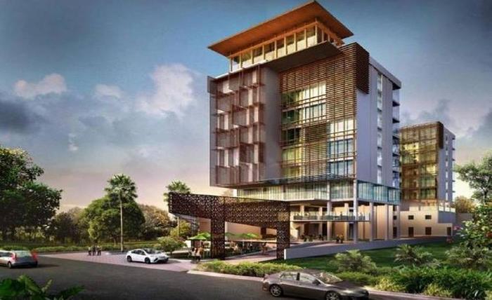 GAIA Cosmo Hotel Jogja - Tampilan Luar Hotel