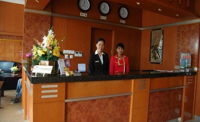 Hotel Idola Sampit Sampit - Resepsionis