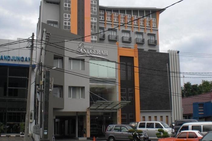 Hotel Grand Anugerah Bandar Lampung - Tampilan Luar Hotel