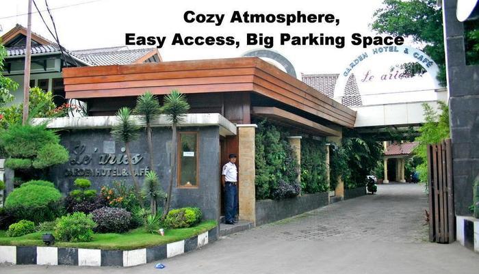 Le Aries Garden Boutique Hotel Bandung - tempat nyaman, akses mudah, parkir luas