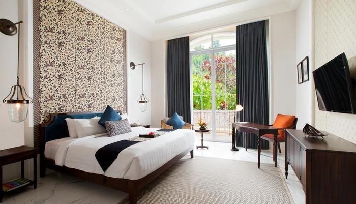 Plataran Heritage Borobudur Hotel Magelang - Deluxe dengan satu bed besar