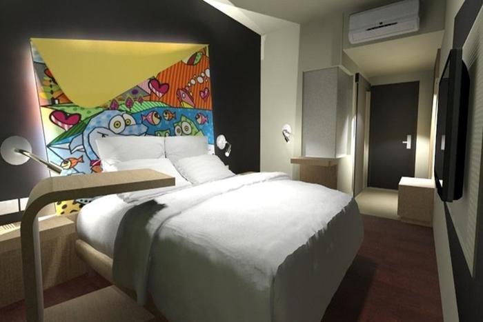 MaxOne Hotel Surabaya - Kamar tamu