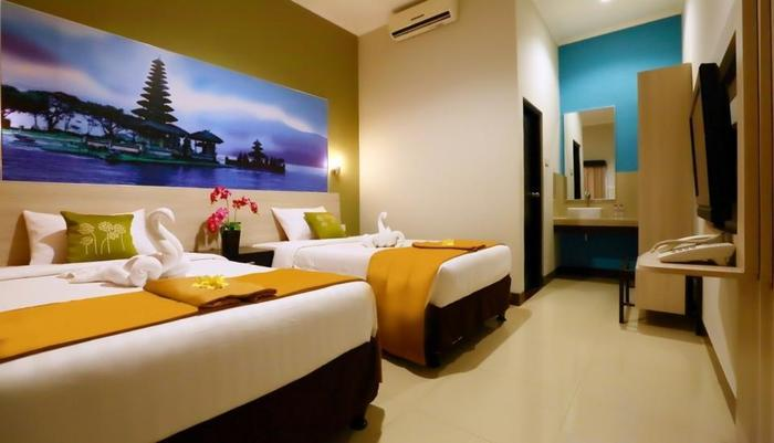 Hotel ASOKA City Home Bali - DELUXE TWIN BED