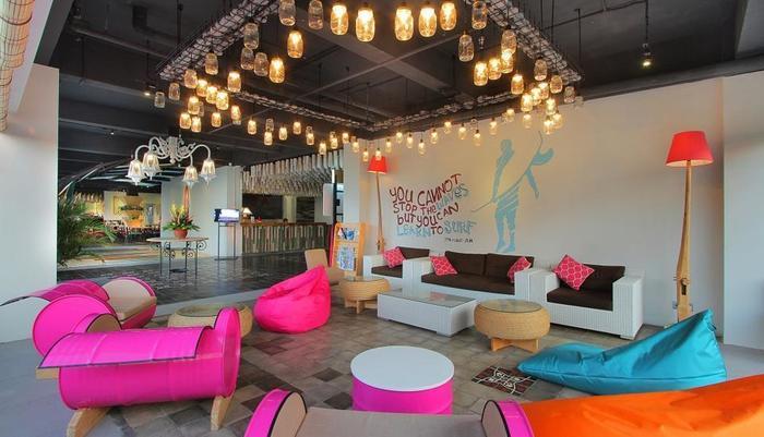 Koa D Surfer Hotel Bali - Lounge