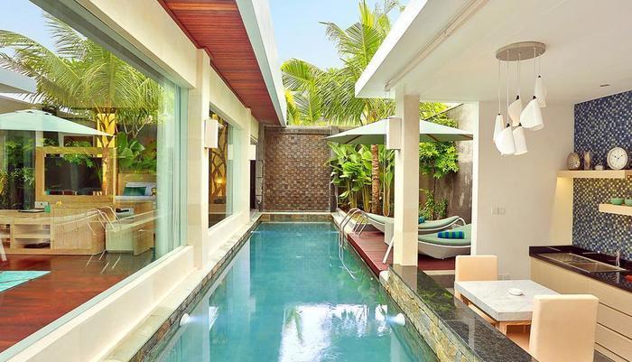 The Leaf Jimbaran - Area kolam renang