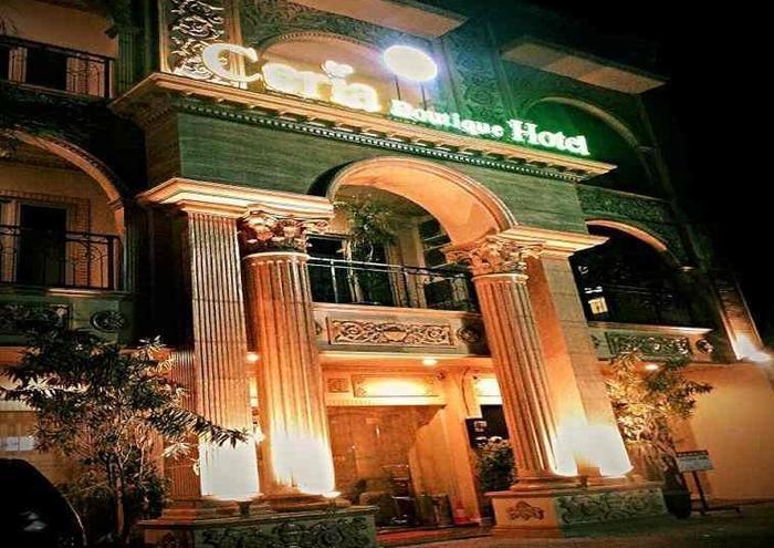 Ceria Boutique Hotel Yogyakarta - Tampilan Luar Hotel