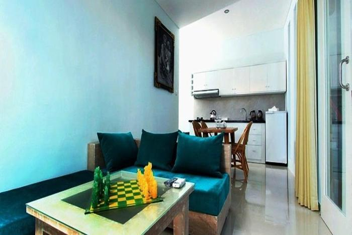 Apple Suite Apartment   - Ruang tamu