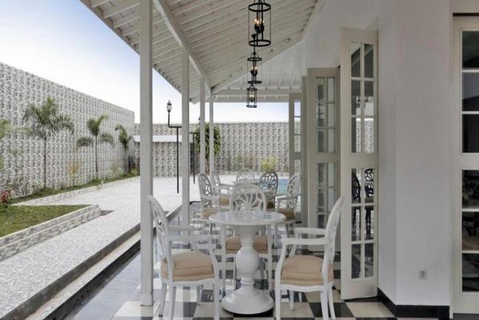 Menumbing  Heritage Hotel Pangkalpinang - Ruang makan