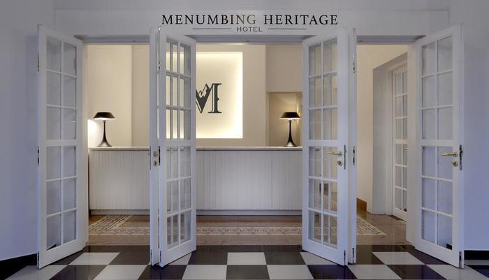 Menumbing  Heritage Hotel Bangka - Hotel Entrance