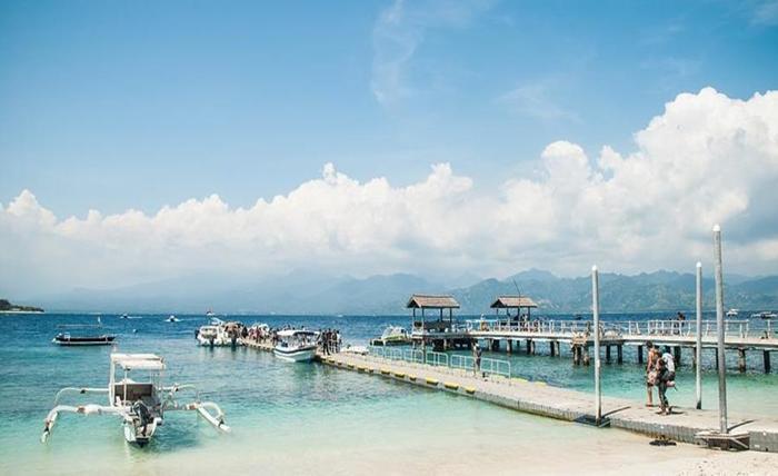 Natya Hotel Gili Trawangan Lombok - Pantai