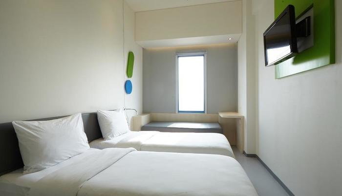 POP Hotel Bandung - Kamar tidur