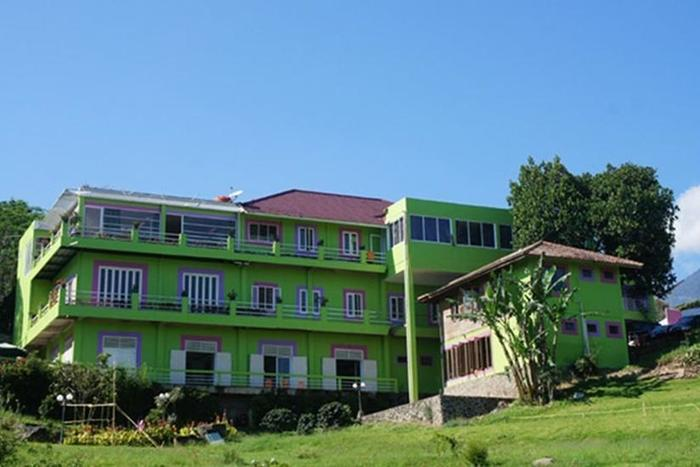 Villa Bunga Bunga Bogor - Tampilan Luar Villa