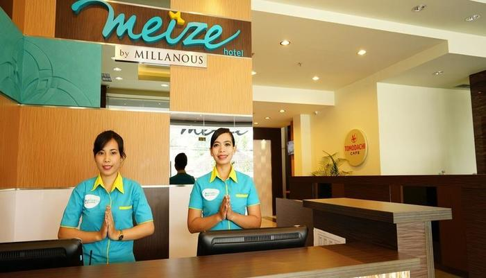 Meize Hotel Bandung - Resepsionis