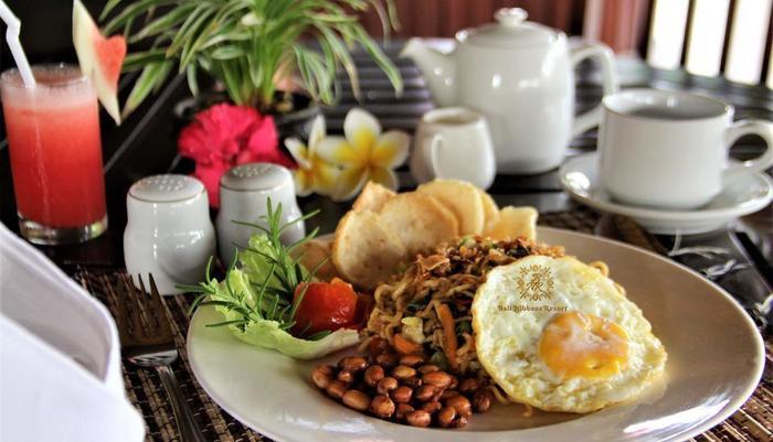 Nibbana Bali Resort Bali - sarapan 2