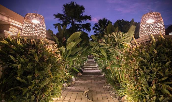 The Tukad Villa Bali - pathway