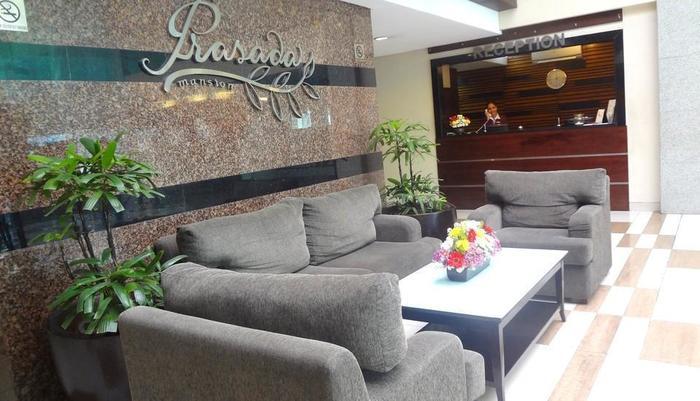 Prasada Mansion Jakarta - Area tempat duduk lobi