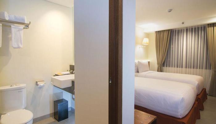 Savvoya Seminyak Hotel Bali - Superior tempat tidur TWin