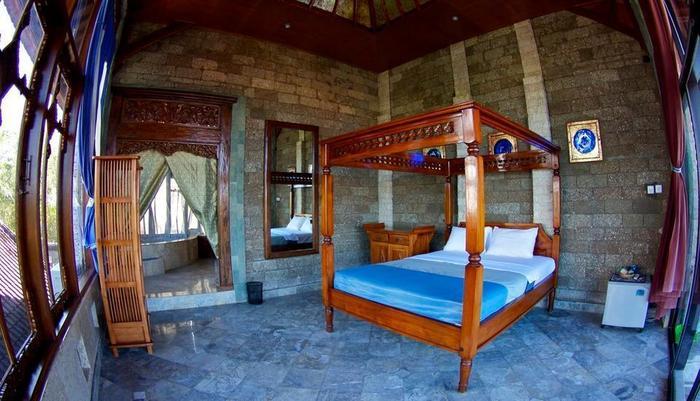 Puri Uluwatu Villas Bali - Deluxe Double Room 1