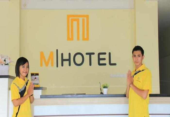 M Hotel Lombok - Resepsionis
