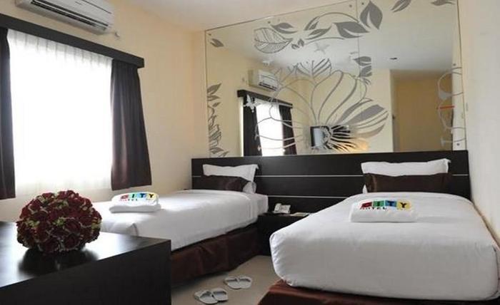 City Hotel Lubuklinggau - Kamar tamu