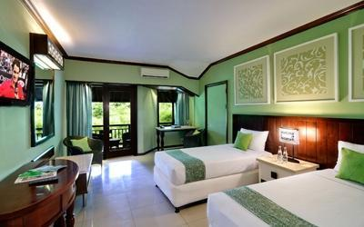 Bali Garden Beach Resort Bali - Kamar Superior dengan 2 tempat tidur single