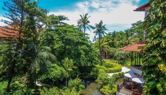 Bali Garden Beach Resort Bali - Kamar Deluxe dengan Pemandangan Taman