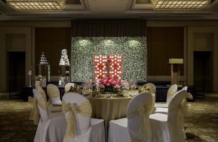 Nama Hotel Conrad Centennial Singapore Alamat Two Temasek Boulevard 038982Singapore Rating Star Murah Bintang 5 Di