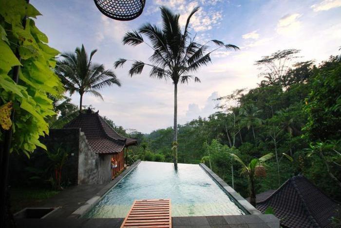DD Ubud Villa Bali - View from Hotel