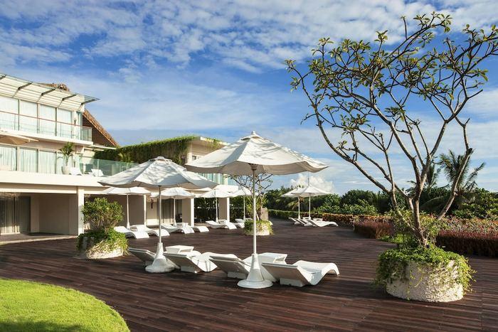 Sheraton Bali Kuta Resort Bali - Aerial View