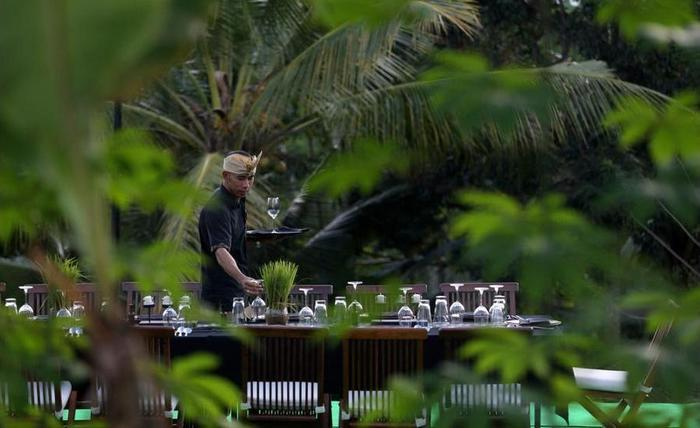 Alila Ubud - Outdoor Banquet Area