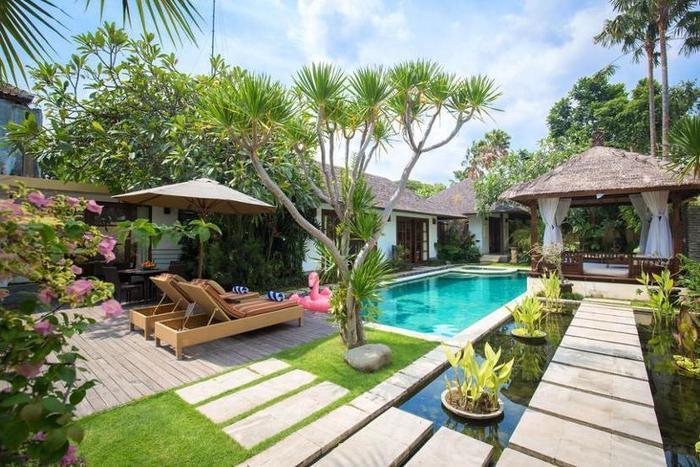 Villa Seriska Satu Sanur Bali - Natural Pool