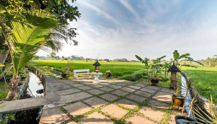 Umasari Rice Terrace Villa Bali - Eksterior