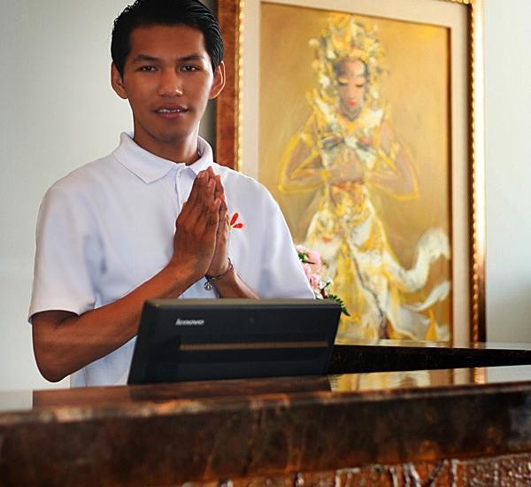 Edelweiss Boutique Kuta Bali - Frontdesk