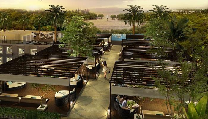 The Crystal Luxury Bay Resort Nusa Dua - Bali Bali - Pemandangan