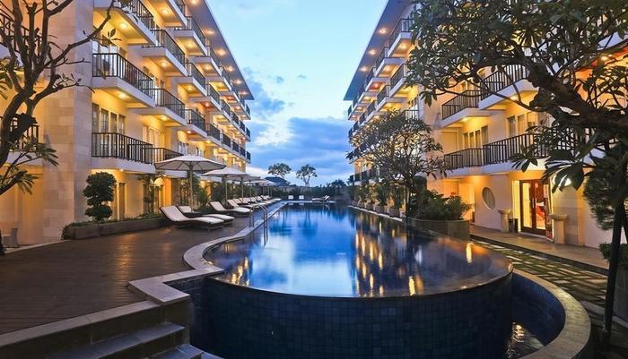 The Jimbaran View Bali - Kolam Renang