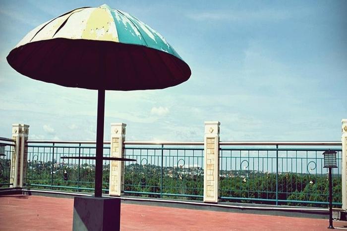 Hotel Benteng Pekanbaru - Balkon