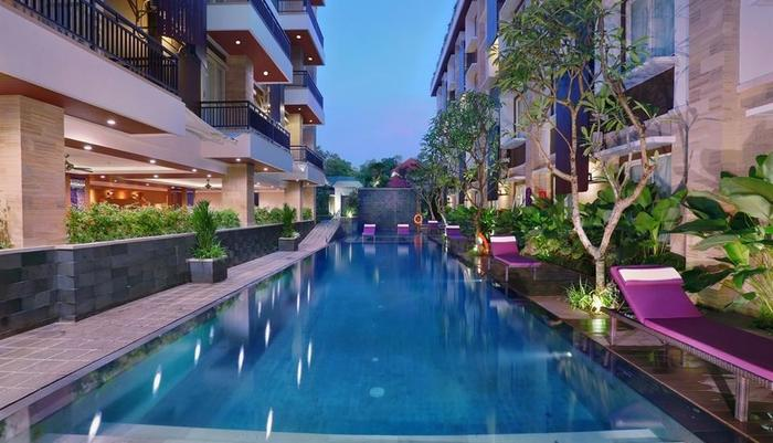 Quest San Hotel Denpasar - Swimming Pool