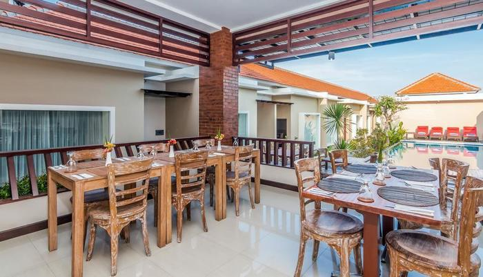 ZenRooms Seminyak Eka Laweya Bali - Restoran