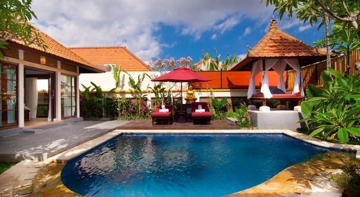 The Awan Villas Balli - Kolam Renang