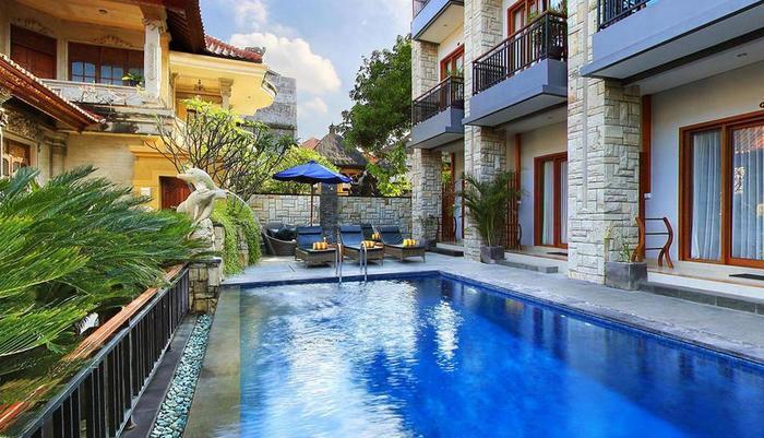 Satriya Cottages Bali - Area Kolam