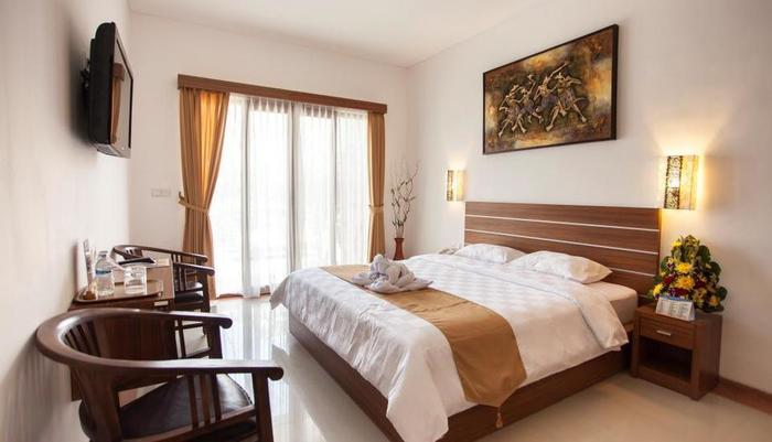 Satriya Cottages Bali - Kamar Standard dengan satu tempat tidur